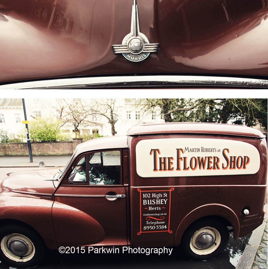The Flower Shop Bushey Morris Van