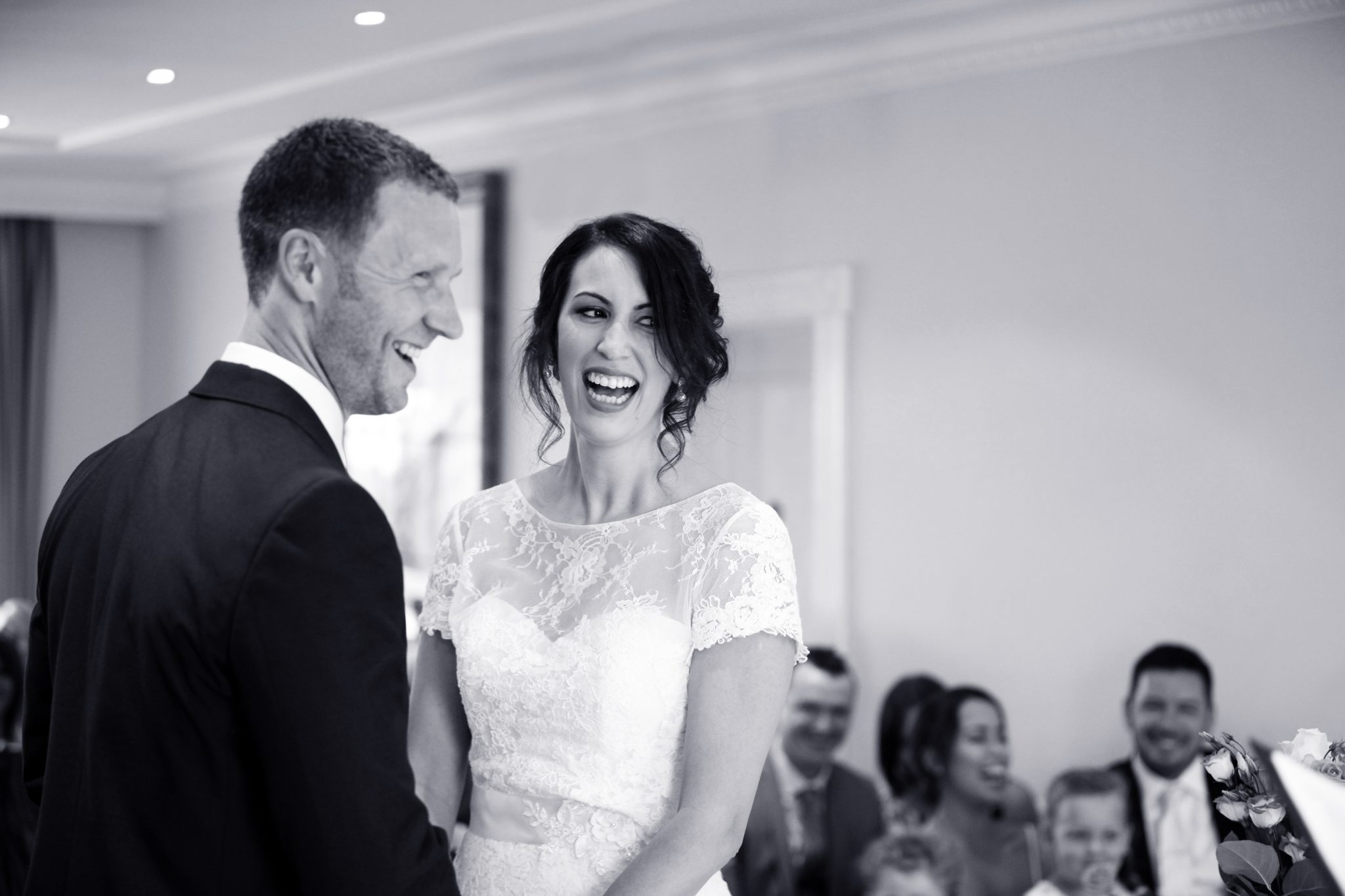 Bushey Hall Golf Club Bride and Groom