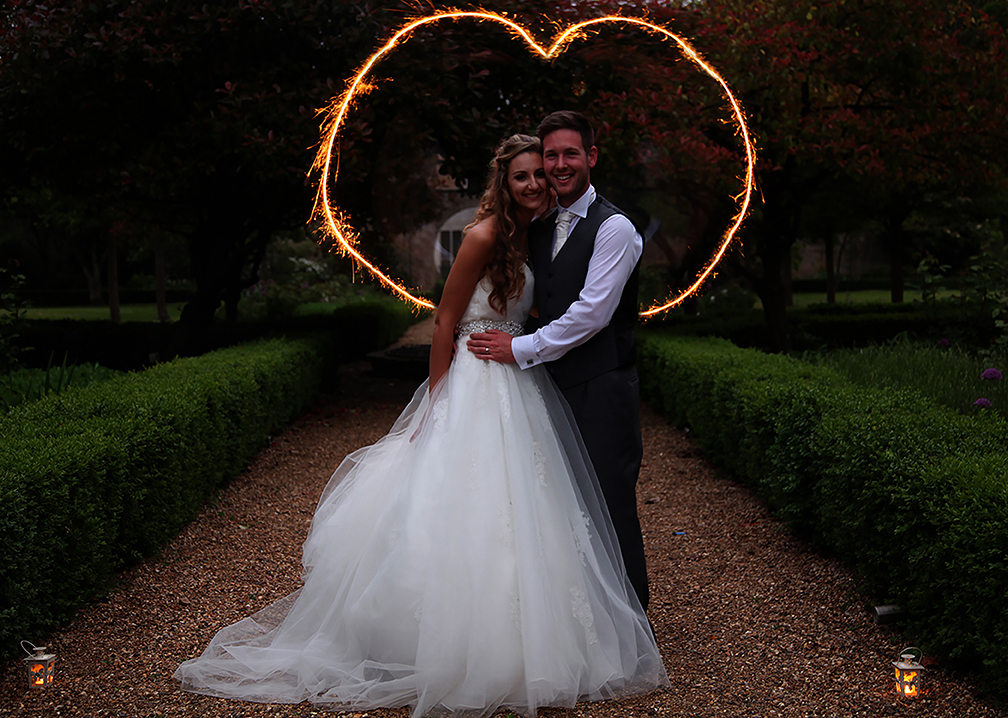 Hanbury Manor, Sparkler Heart