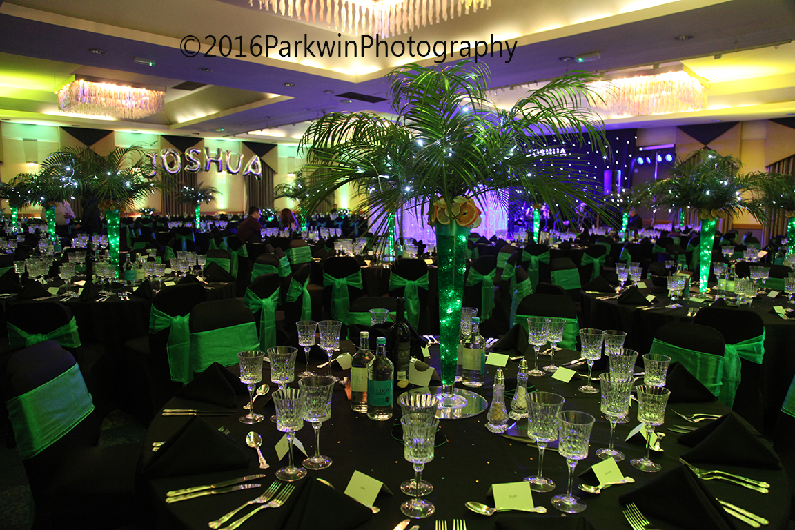 The Waford Hilton ready for a Bar Mitzvah