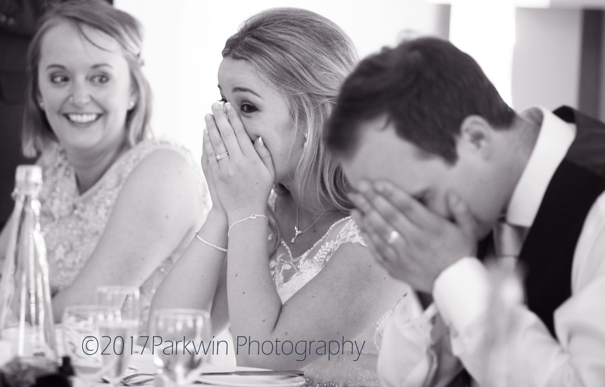 Laughter during Best Mans Speech during wedding